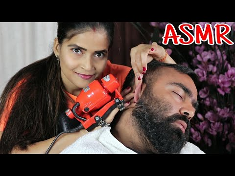 World's best Head Massage - ASMR sleep & relaxation treatment by Cosmic lady Queen of ASMR