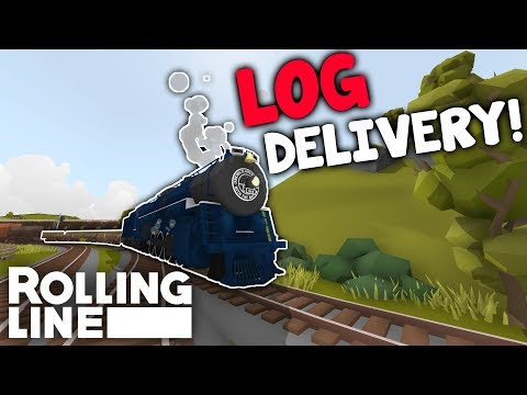 Log Delivery  –  Toy Train Simulator Rolling Line VR  –  Somewhere In England