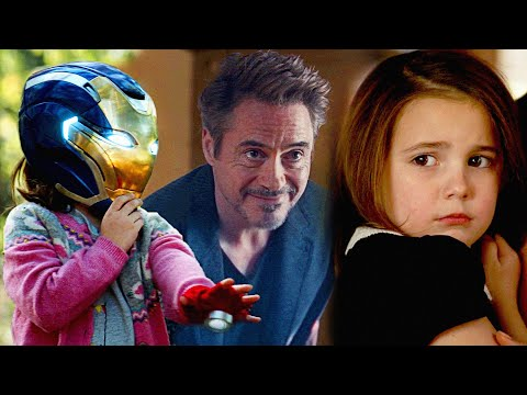 Avengers Endgame | Morgan Stark All Scenes - 4K