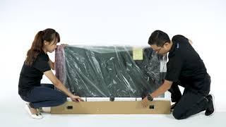 Unbox / Lắp đặt TV Sony LED 55X7000F