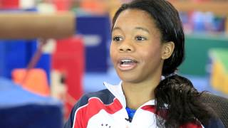 "Gabby Douglas: ""I want to make it big and make it better than last time."""