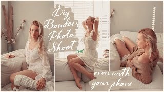 Download Mp3 VALENTINES Day Special DIY Classy Modest BOUDOIR Photoshoot TUTORIAL At Home iPhone PHOTOGRAPHY