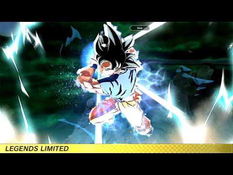 (LANDSCAPE MODE) Ultra Instinct Sign Goku (Legendary Finish) and Jiren Animations - DB Legends