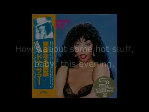 "Donna Summer - Hot Stuff / Bad Girls (12"" Extended Single) LYRICS SHM ""Bad Girls Deluxe"" 1979"