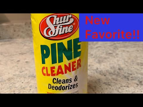 ASMR / New fav Pine Cleaner  Featuring Ajax ... 🌲🌲🌲