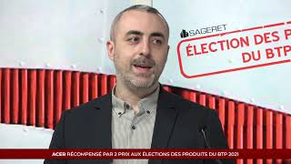 Élection des Produits du BTP 2021 - ACER