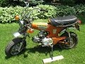 1973 Honda CT70 'Trail 70' Candy Topaz Orange, For Sale on Ebay