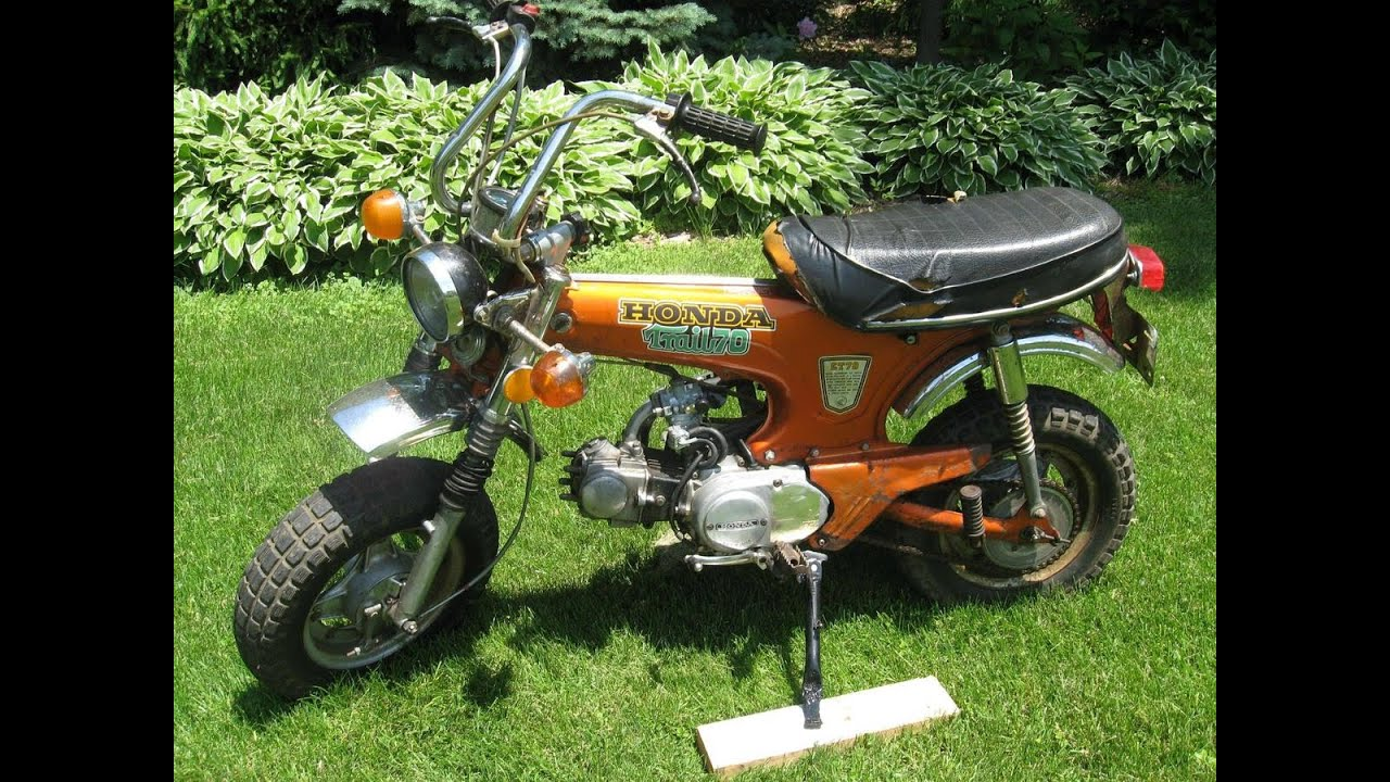 1973 honda ct70 39 trail 70 39 candy topaz orange for sale on. Black Bedroom Furniture Sets. Home Design Ideas