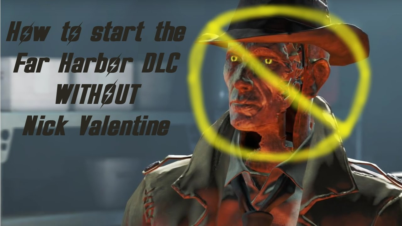 Fallout 4 How To Start The Far Harbor DLC WITHOUT NICK