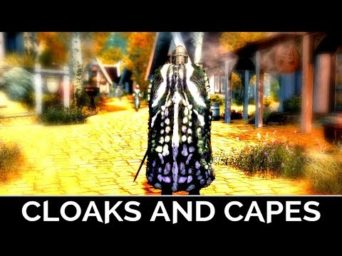 Skyrim Special Edition: ▶️Cloaks & Capes◀️ Mini Mod Showcase