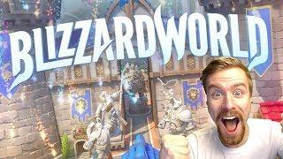 BIG OVERWATCH UPDATE | Blizzard World and NEW SKINS! | Overwatch Gameplay - PC