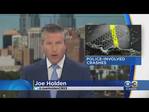 Philadelphia Police Investigating 2 Crashes Involving Officers