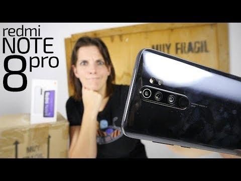 Xiaomi Redmi Note 8 PRO unboxing -la INCOGNITA del procesador-