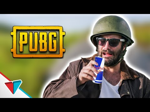Energy Drinks - PUBG Logic (Player Unknown's Battlegrounds Red Bull Skit) | Viva La Dirt League