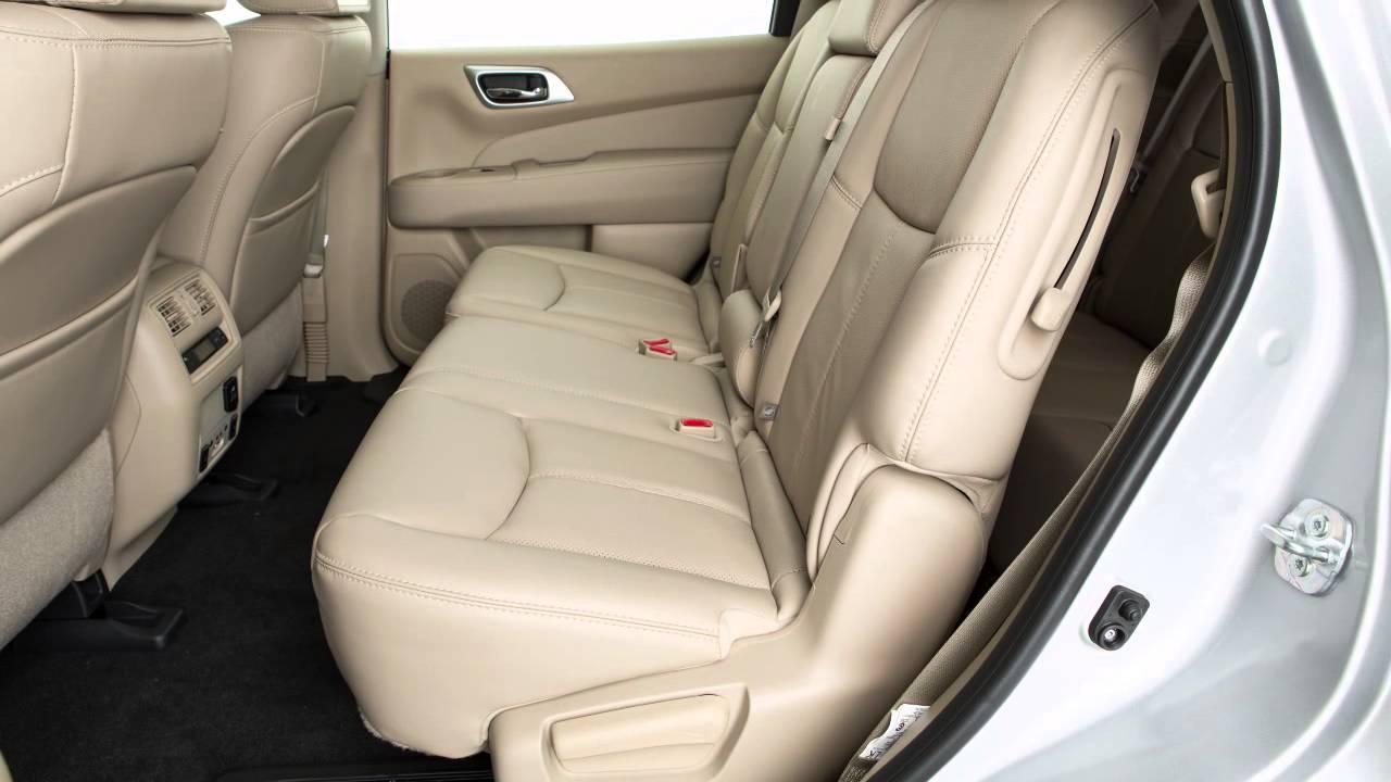 2016 Nissan Pathfinder Seat Adjustments