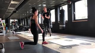 Thuis training 1 workout Fit en Gezond