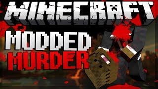 """Minecraft """"TRUST NO ONE"""" Murder in Minecraft w/ JeromeASF & Friends"""