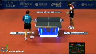 Harmony Pro Tour China Open. A. Liventsov (RUS) vs Ma Lin (CHN) 4:3 !!!