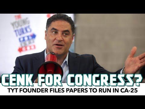 Is TYT's Cenk Uygur Running For Congress?