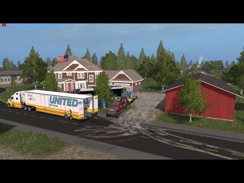Farming Simulator 17- Moving To The Brand New Lawn Care Shop