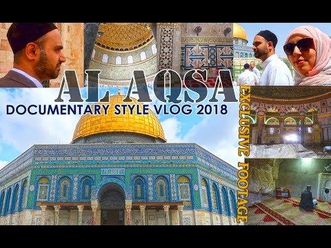 AL AQSA mosque documentary VLOG 2018 - Dome of the Rock, inside tour, AL QUDS, Palestine