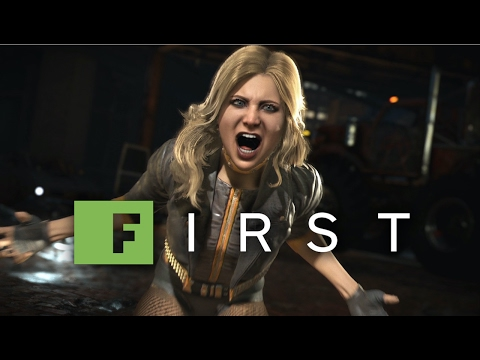 injustice-2:-black-canary-gameplay-reveal-trailer---ign-first