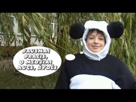 """Pasodink medį. Moksleivių filmukų konkursas """"Padėk Pandai kovoti su klimato kaita"""