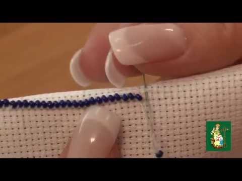 Как ровно вышивать бисером