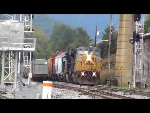Foreign Power and Other Rarities - Brunswick, Maryland (feat. Amtrak 145 & 42).