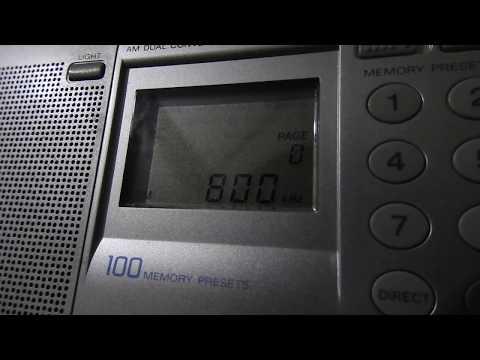 800 kHz Radio Moderna, Honduras