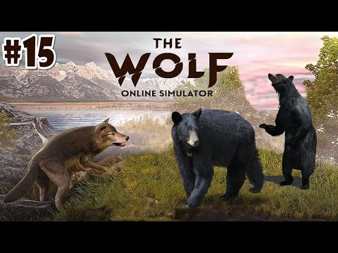 The Wolf Online Simulator -Black Bears Hunting- Android / iOS - Gameplay Episode 15