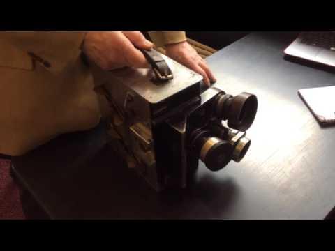 Sir Sydney Samuelson's camera