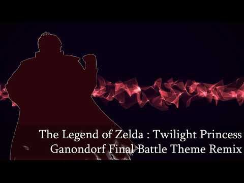 Twilight Princess - Ganondorf Final Battle Theme Epic Remix