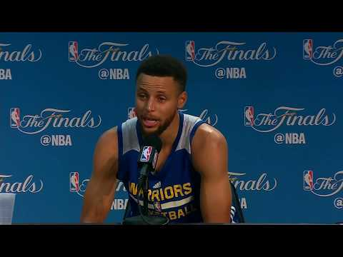 Stephen Curry FULL Interview Before Game 5 | Media Day Availability