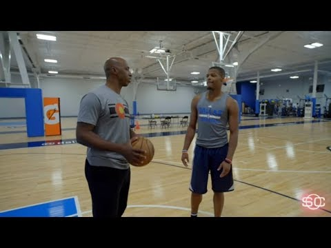 Mavericks rookie Dennis Smith Jr. hangs with Chauncey Billups | SportsCenter | ESPN