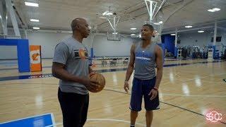 Mavericks rookie Dennis Smith Jr. hangs with Chauncey Billups | SportsCenter | ESPN