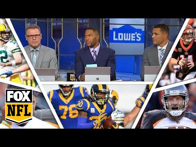 FOX NFL crew break down Week 8 Rams, Bengals | FOX NFL