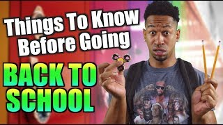 Download lagu THINGS TO KNOW BEFORE GOING BACK TO SCHOOL MP3