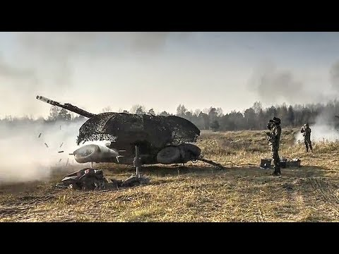 Oerlikon GDF 35mm Twin Cannon – Air Defense Artillery Live Fire Exercise