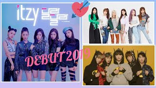 TXT , ITZY , EVERGLOW. Boy and Girl band Debut 2019* #8