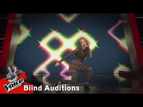 Georgina Kalais – Jumpin'Jack Flash | 17o Blind Audition | The Voice of Greece