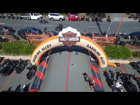 HARLEY STREET PARTY! Harley-Davidson Celebrates 100 Years in Australia | Anniversary Ride