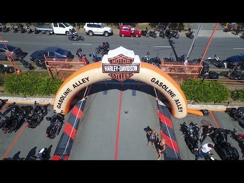 HARLEY STREET PARTY! Harley-Davidson Celebrates 100 Years in Australia | Anniversary Ride