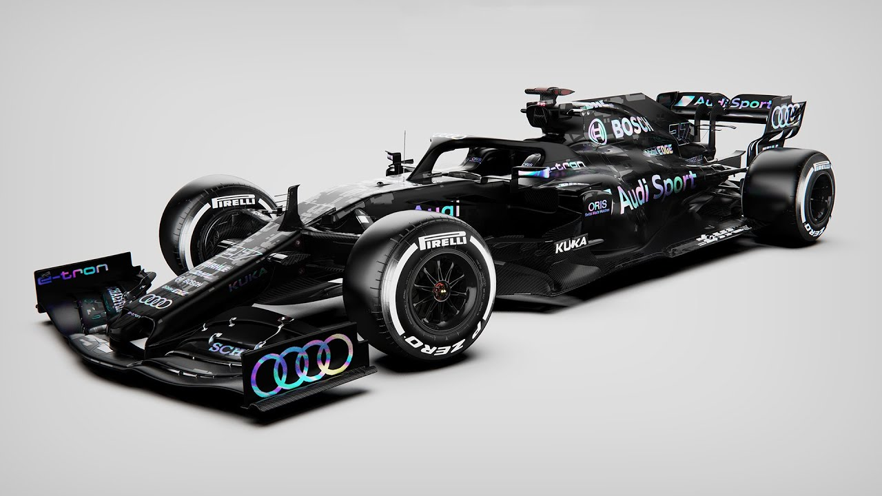 Audi F1 2021 Concept Livery - YouTube