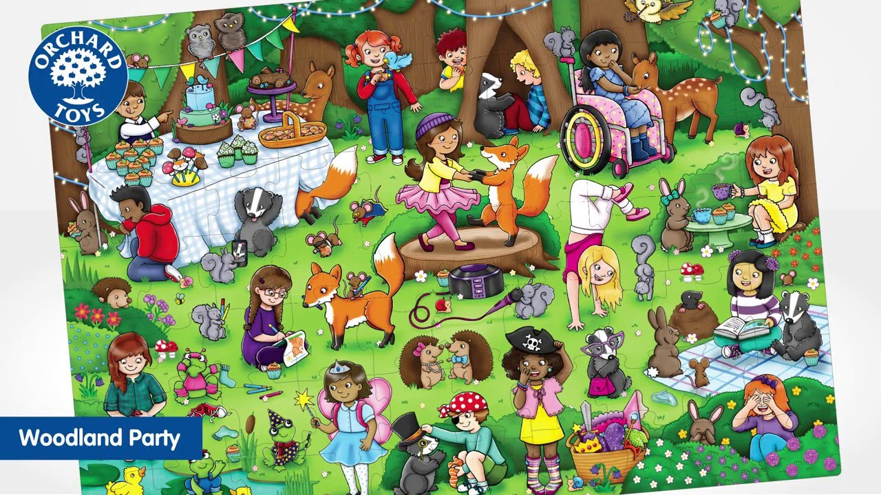 Orchard toys woodland party jigsaw youtube orchard toys woodland party jigsaw gumiabroncs