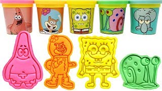 SpongeBob SquarePants Play-Doh Molds & T...