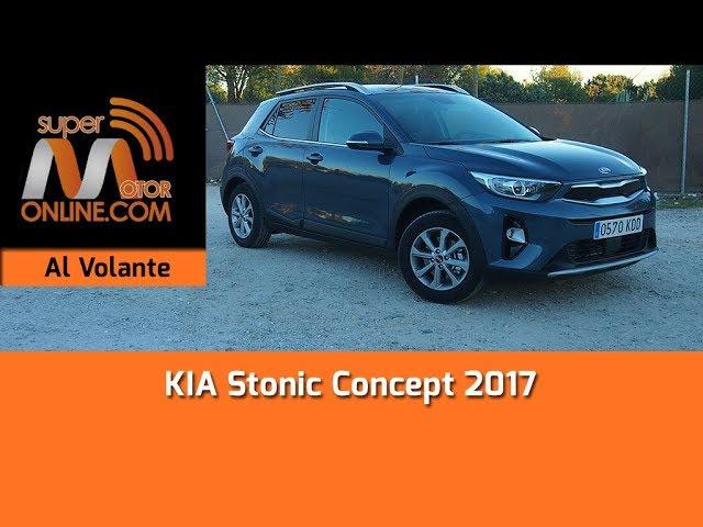 KIA Stonic 2017 / Al volante / Prueba dinámica / Review / Supermotoronline.com