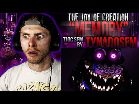 "Vapor Reacts #453 | [TJOC SFM] THE JOY OF CREATION SONG ""Memory"" Animation by TynadoSFM REACTION!!"