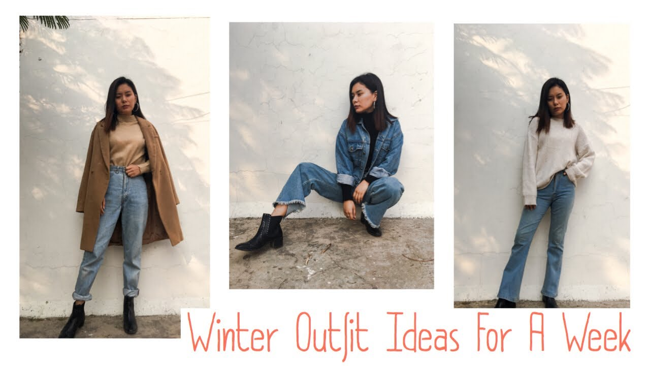 [VIDEO] - Casual Winter Outfit Ideas For A Week 2019 |Yishey Lanzom 2