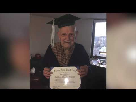 Maverick - Veteran Gets Diploma 76 Years After Missing Graduation to Fight in WWII